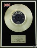 "BERN ELLIOT & THE FENMEN  - 7"" -  Platinum Disc - MONEY"